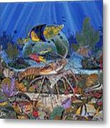 Lobster Sanctuary Re0016 Metal Print
