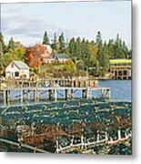 Lobster Village In Autumn, Southwest Metal Print