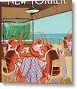 Lobsterman's Special Metal Print