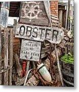 Lobster's Here Metal Print