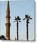 Local Cairo Mosque 02 Metal Print