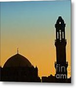 Local Cairo Mosque 03 Metal Print