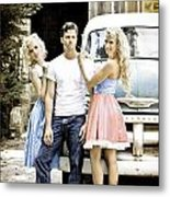 Local Country Store Pinup Metal Print