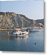 Local Fishing Boats Metal Print