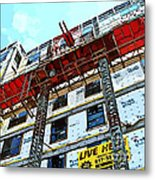 Location Location Location Metal Print by MJ Olsen