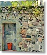 Location With A View Metal Print