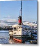Loch Lomond Paddle Steamer Metal Print