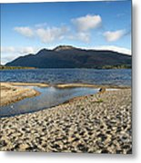 Loch Lomond Pano Metal Print by Jane Rix