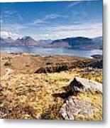 Loch Torridon From Bealach Na Gaoithe Metal Print