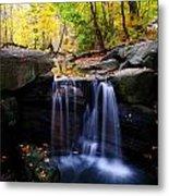 Loch Waterfall Metal Print