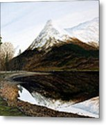 Lochleven Reflections Metal Print