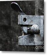 Lock Metal Print