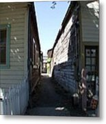 Locke Chinatown Series - Back Alley - 6 Metal Print