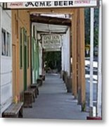 Locke Chinatown Series - Main Street - 7 Metal Print