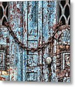 Locked And Chained Metal Print