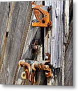 Locked Tight Metal Print