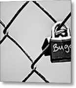 Locked Together Metal Print
