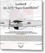 Lockheed Ec-121t Super Constellation Metal Print