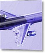 Lockheed L-1011 Tristar 2 Metal Print