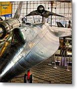Lockheed M-21 Blackbird Metal Print