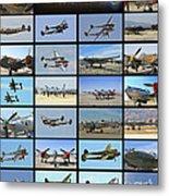Lockheed P-38 Poster Metal Print