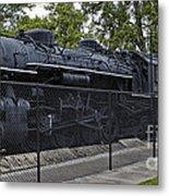 Locomotive 639 Type 2 8 2 Side View Metal Print