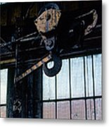 Locomotive Hook Metal Print