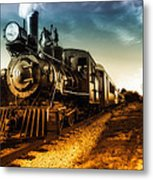 Locomotive Number 4 Metal Print