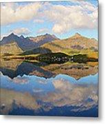 Lofoten Panorama Selfjorden Norway Metal Print