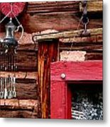 Colorado Cabin Metal Print