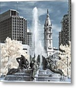 Logan Fountain Metal Print
