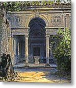 Loggia Of The Muses Metal Print