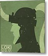 Loki - Son Of Odin Metal Print by Michael Myers