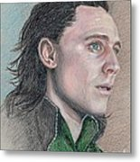 Loki From The Avengers Metal Print