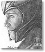 Loki Smirking Metal Print