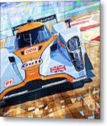 Lola Aston Martin Lmp1 Racing Le Mans Series 2009 Metal Print by Yuriy  Shevchuk