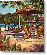 Lola's In Costa Rica Metal Print