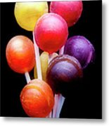 Lollipop Bouquet Metal Print