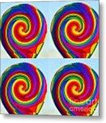 Lollipops Metal Print
