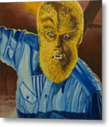 Lon Chaney Jr As Wolfman Metal Print