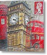 London Big Ben Metal Print