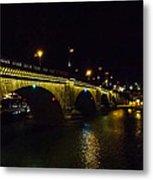 London Bridge Night Metal Print