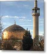 London Central Mosque Metal Print