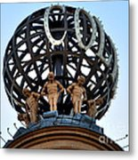 London Coliseum Rooftop Metal Print