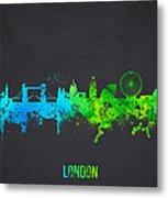 London England Metal Print by Aged Pixel