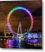 London Eye Pride Metal Print