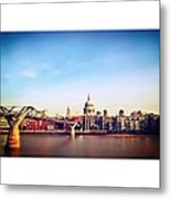 London Metal Print by Maeve O Connell