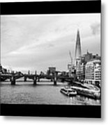 London Skyline Metal Print by Maeve O Connell