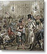 London: Slum, 1821 Metal Print
