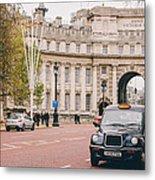 London Taxi Metal Print